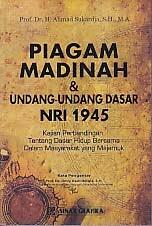 toko buku rahma: buku piagam madinah dan UUD NRI 1945, pengarang ahmad sukardja, penerbit sinar grafika