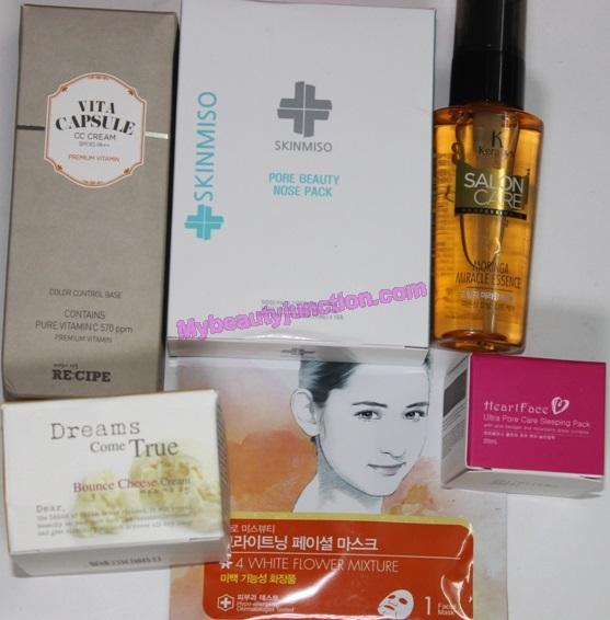 Memebox N@ked 3 beauty box review, unboxing