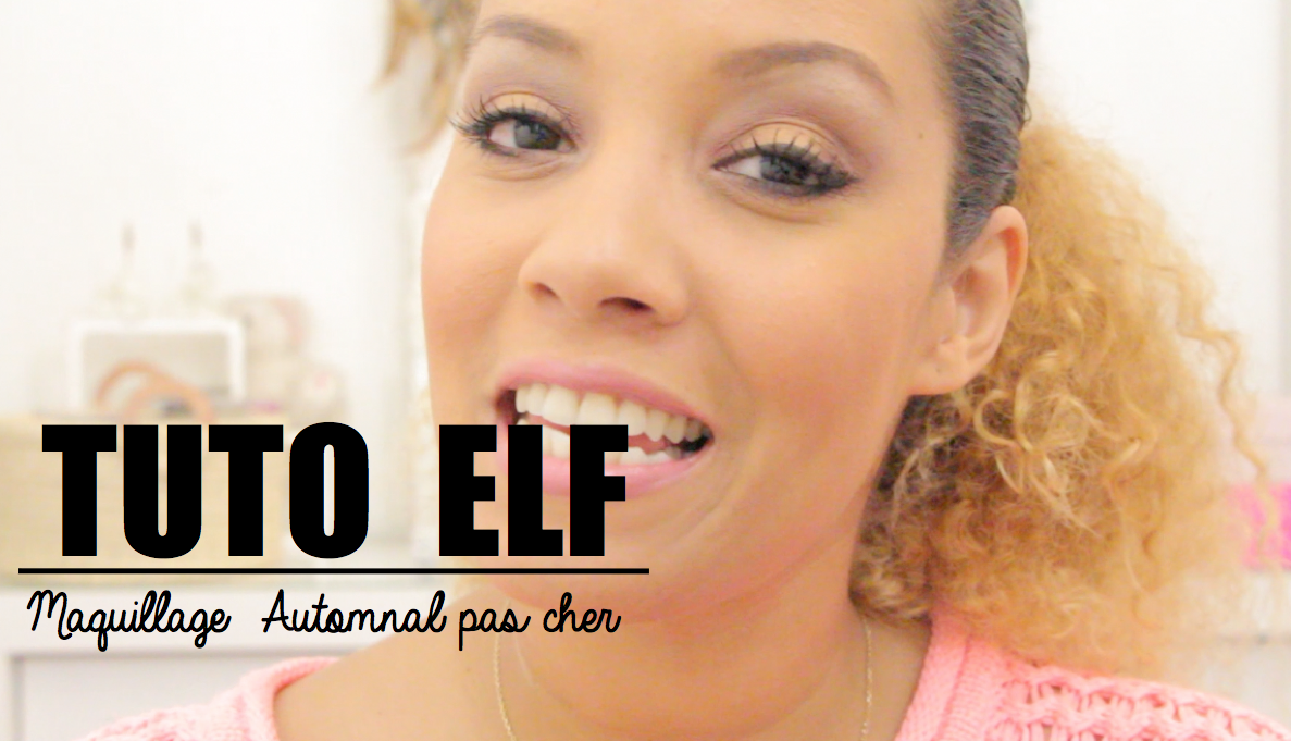 tutoriel maquillage elf
