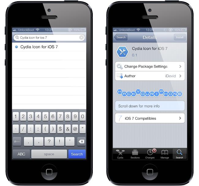 Cydia Icon for iOS 7.0.4