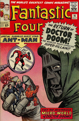 Fantastic Four #16, Dr Doom and Ant-Man