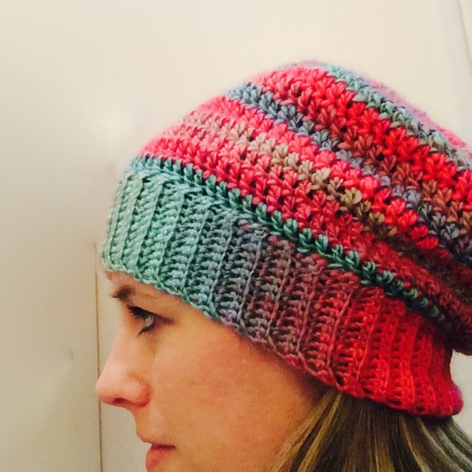 Free Crochet Patterns Using Red Heart Unforgettable Yarn : Crochet in Color: Unforgettable Hat