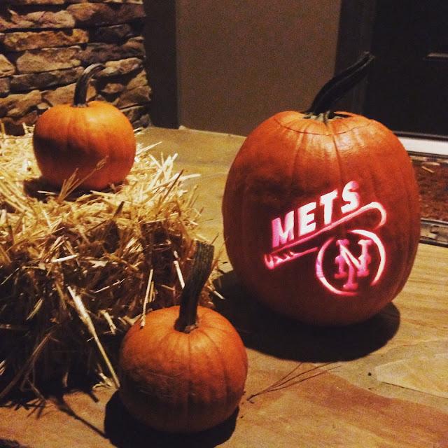 NY Mets Pumpkin