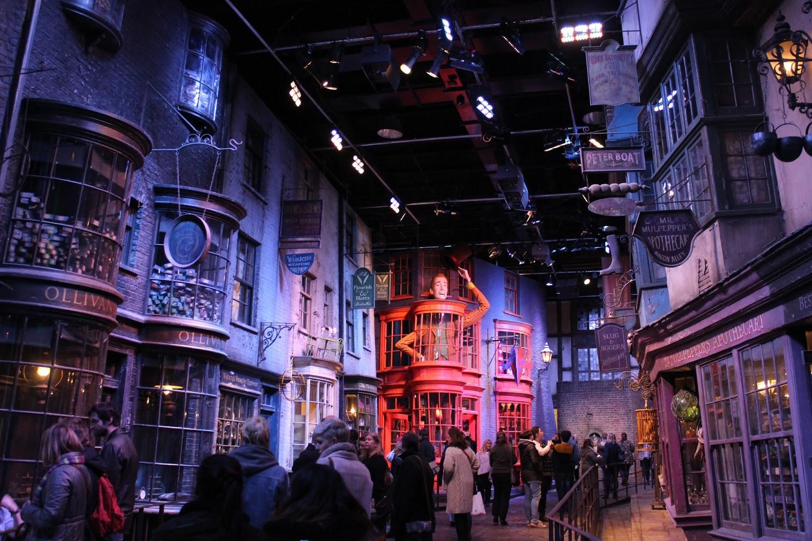 Harry Potter studio tour london diagon alley