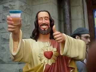 Jesus pee cup