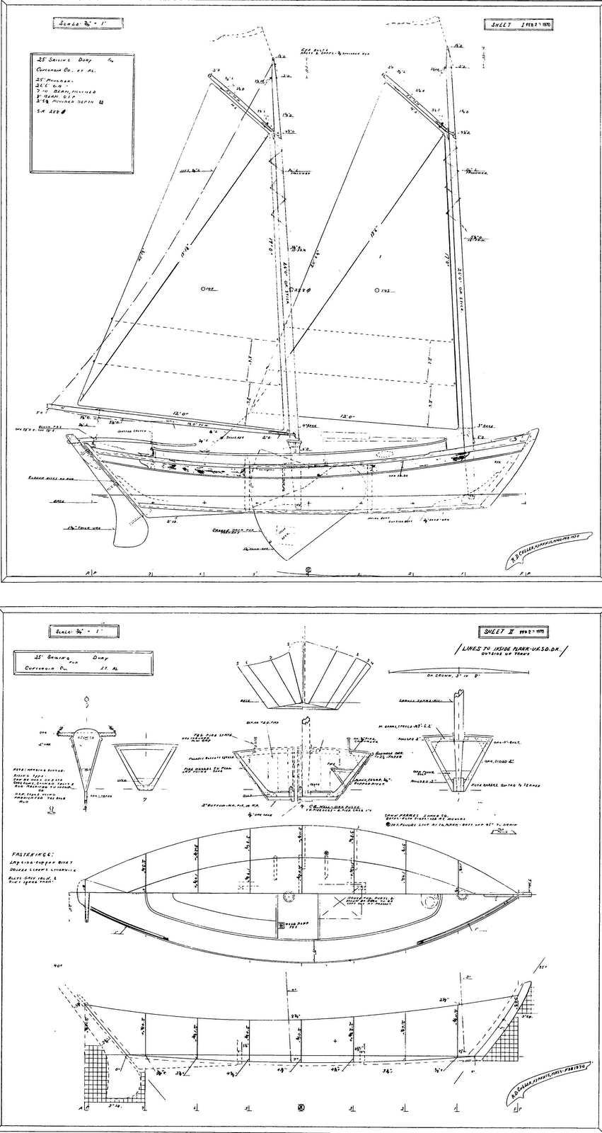 Wooden Cruising Dory Plans Plans PDF Download – DIY Wooden Boat ...