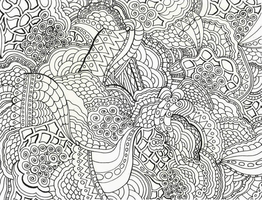 Coloring Pages Abstract Coloring