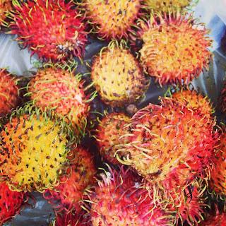 vietnam, otcb on tour, rambutan, fruit