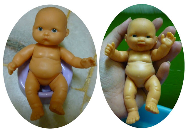 cutest little baby dolls 4.5 inches tall doll