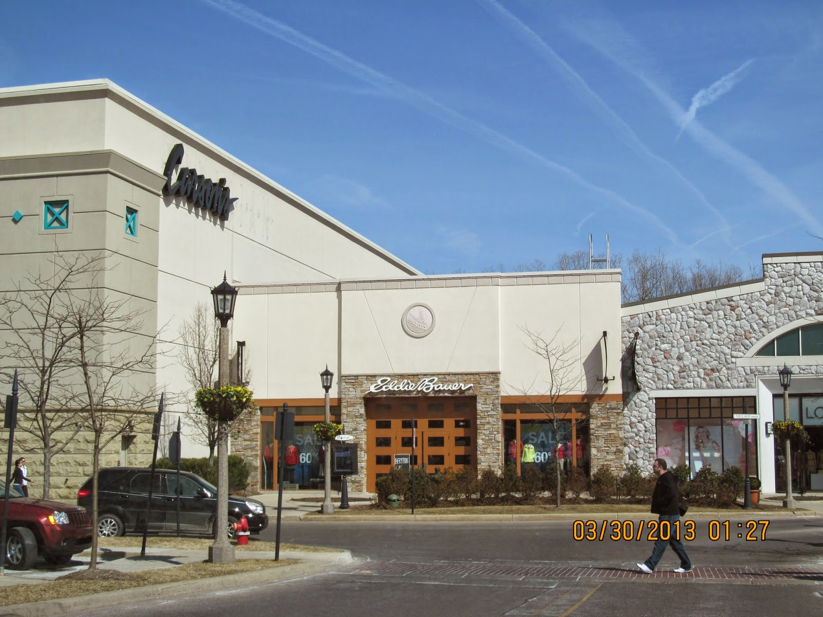 The Mall at Partridge Creek is home to nearly 90 distinctive stores and restaurants. In addition, The Mall at Partridge Creek has amenities unique to malls in Michigan, including: free Wi-Fi, pop jet fountains, a TV Court, and a foot fireplace.