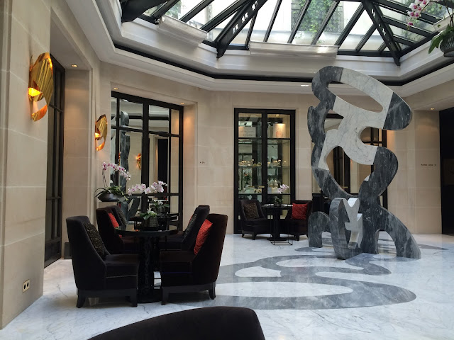 Atrium at Le Burgundy, Paris