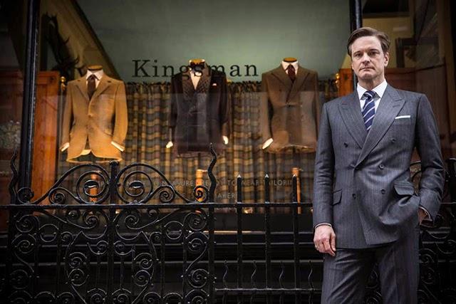 Kingsman, Savile Row, cine, Mr. Porter, Suits and Shirts,