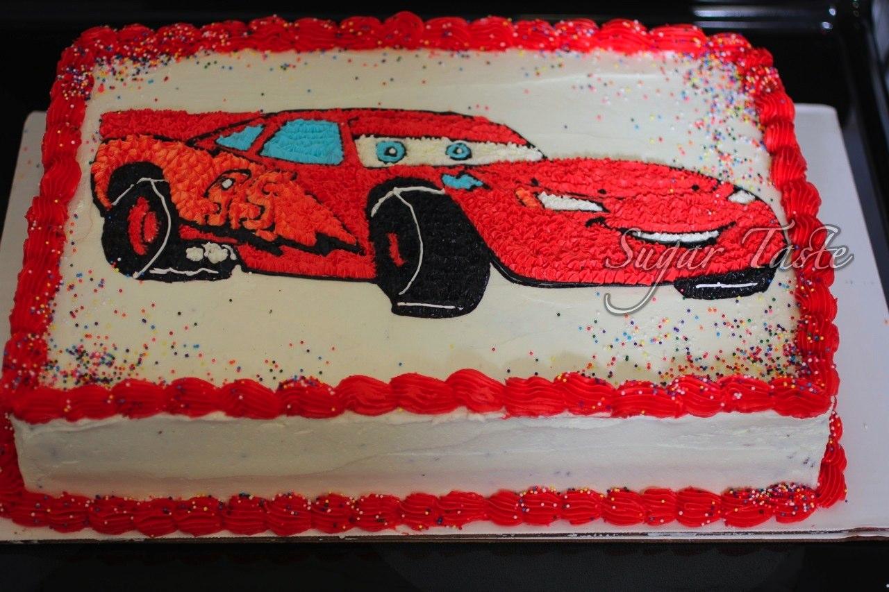Cake Cars Buttercream