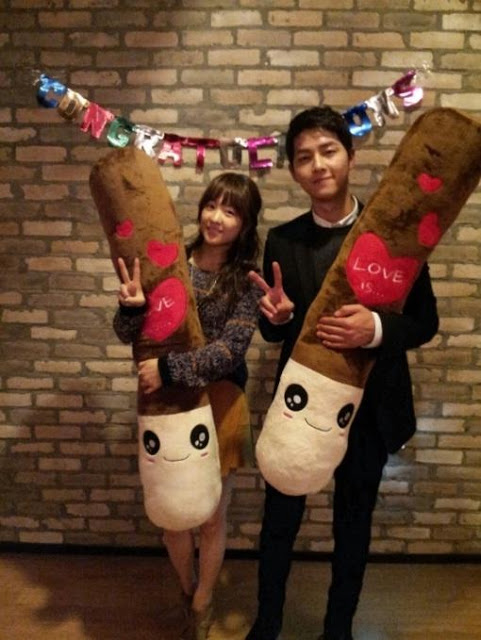 Song Joong Ki & Park Bo Young Pepero Day