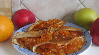 блинчики с начинкой из тыквы с яблоком