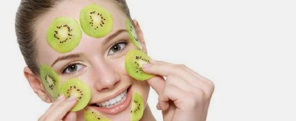 Kiwi Maske für fettiges Haut