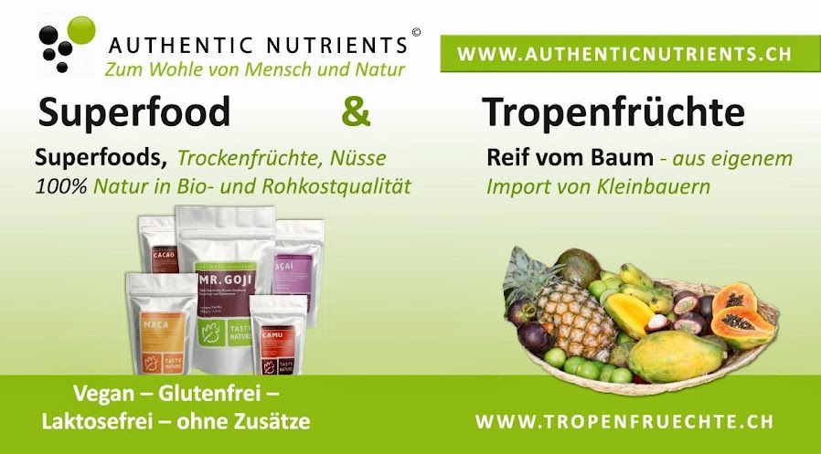 Taste Nature - Superfood & Tropenfrüchte