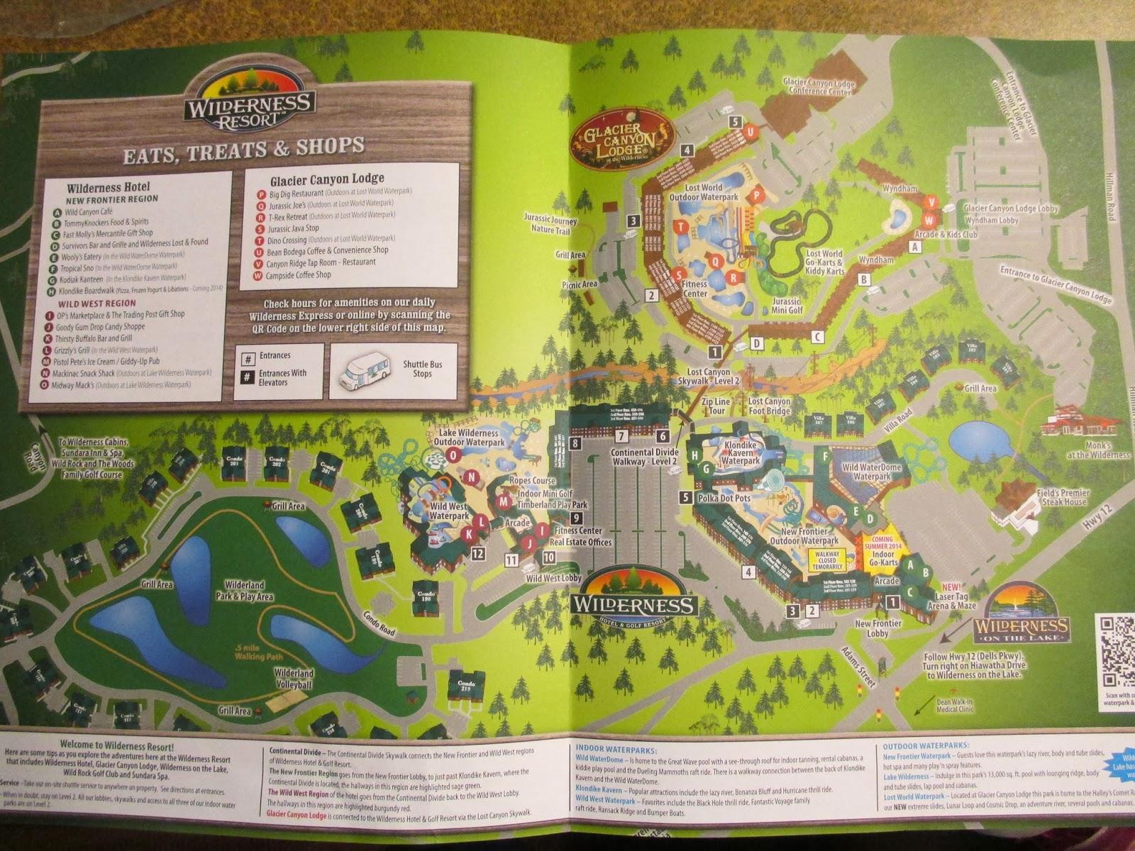 lap child diaries wilderness waterpark