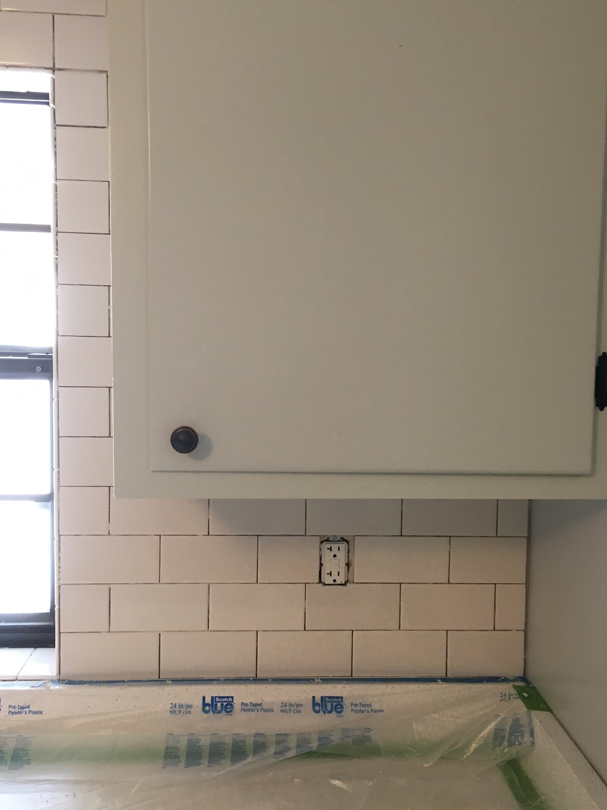 How to end subway tile