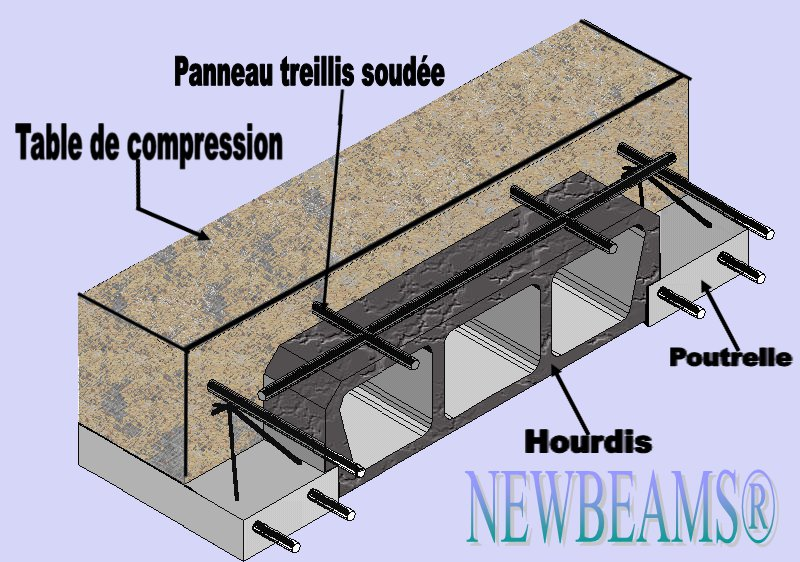 Plancher 20 5 newbeams - Dalle de compression ...