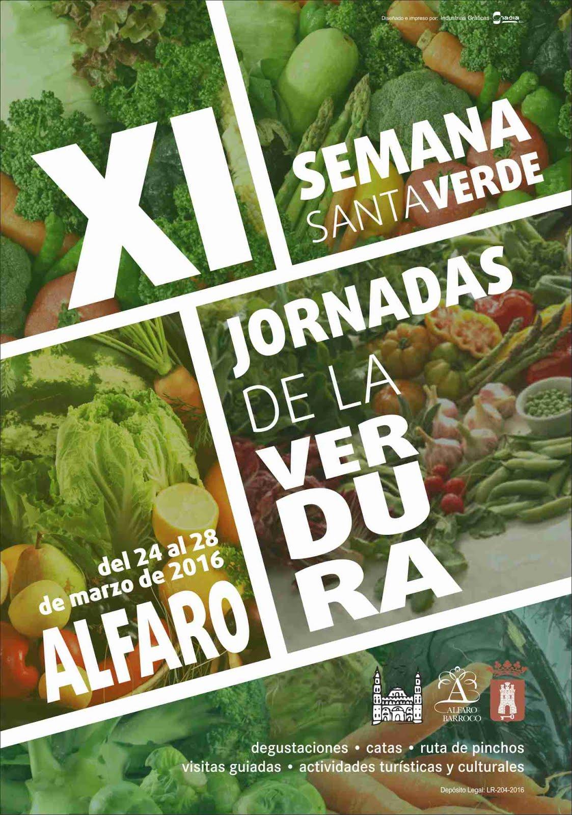 XI Jornadas de la Verdura Semana Santa Verde Alfaro