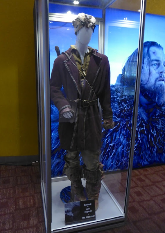 Tom Hardy John Fitzgerald movie costume The Revenant