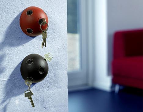 Originales percheros de pared para llaves - Percheros de pared originales ...