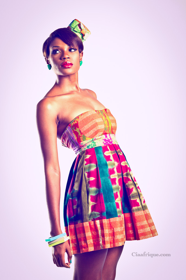 "African fashion - VIV LA RESISTANCE  ""KALEIDOSCOPE ""A/W 2012 COLLECTION- Pagne africain"