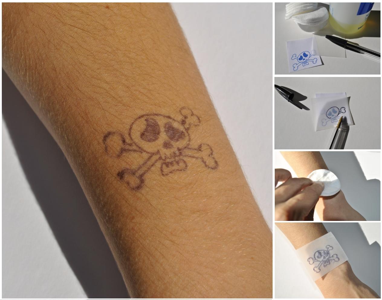 resultat tatouage 10 jours