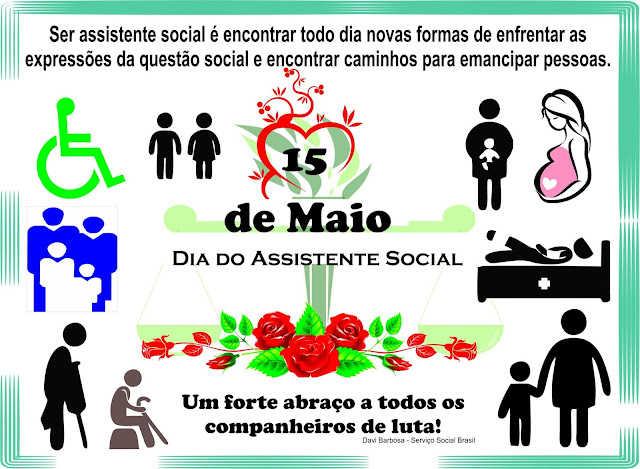 15 de Maio - Dia do Assistente Social