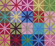 Tutorial !  Asterisk quilt