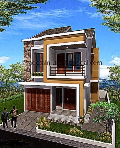 Minimalis 2 Lantai  Jasa Desain Rumah Tinggal