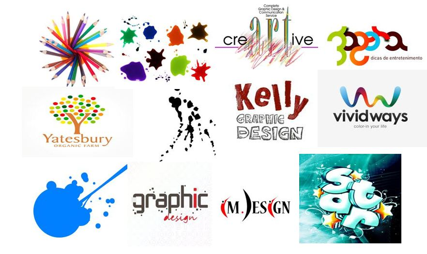... different types of images that range from design logos to personal