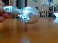 experimentos caseros bomba de humo pelotas ping pong
