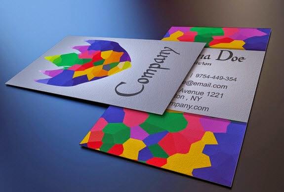 Art Gallery Business Card Template