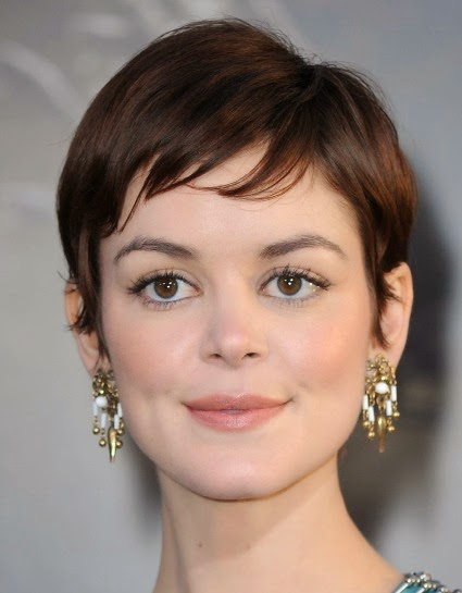 Short Pixie Cut with Choppy Bangs