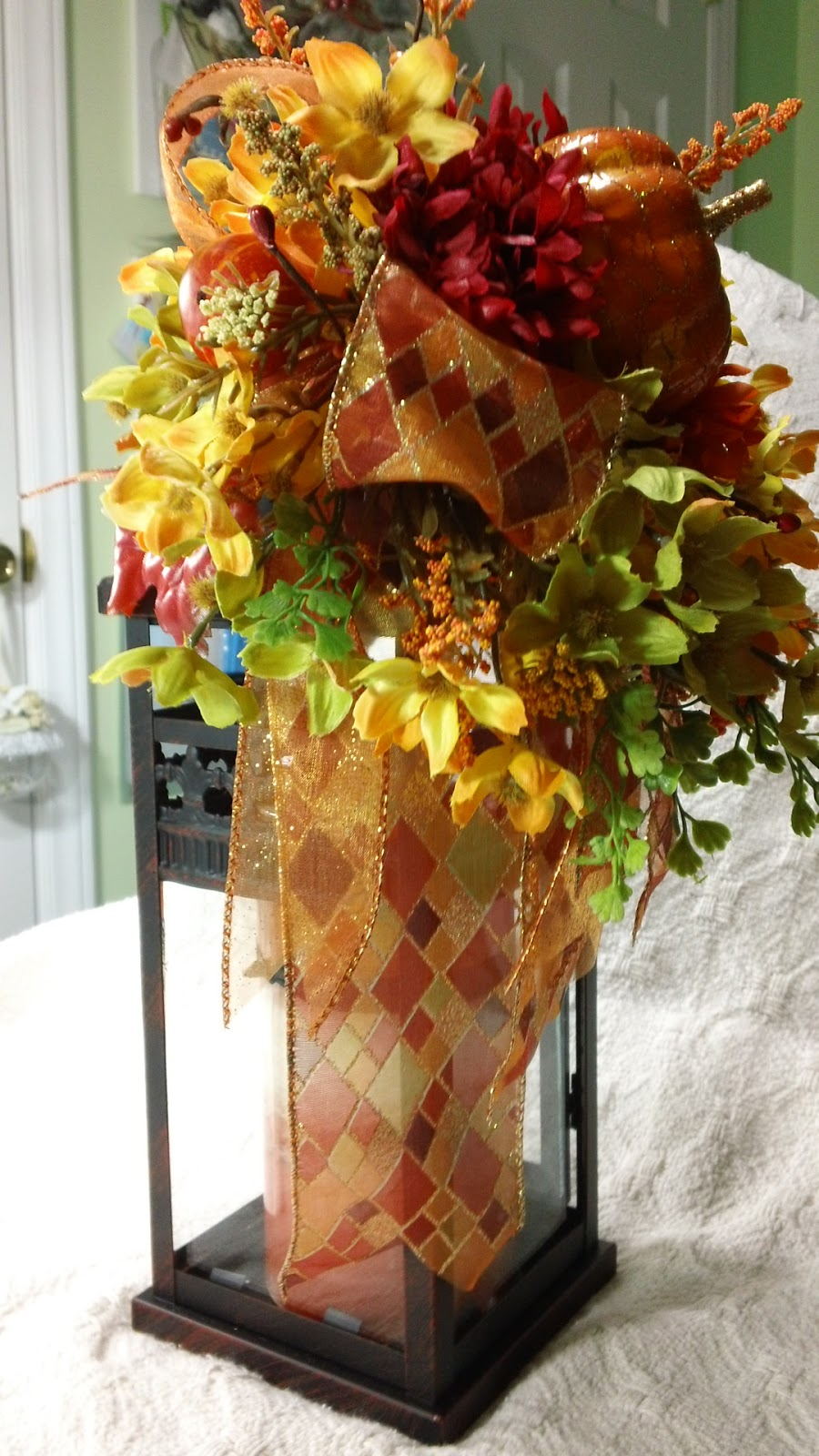 Thetara fall floral arrangement