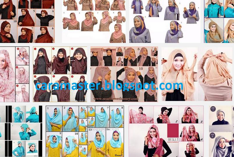 Jenis model Cara Memakai Jilbab