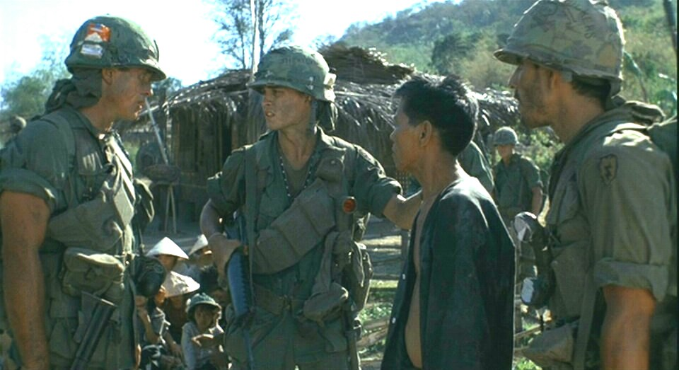 elias barnes platoon Symbolism in platoon the barnes/elias relationship symbolizes the duplicity of man while taylor originally found himself drawn to barnes.