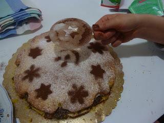 ringraziamenti e torta nutella e mascarpone
