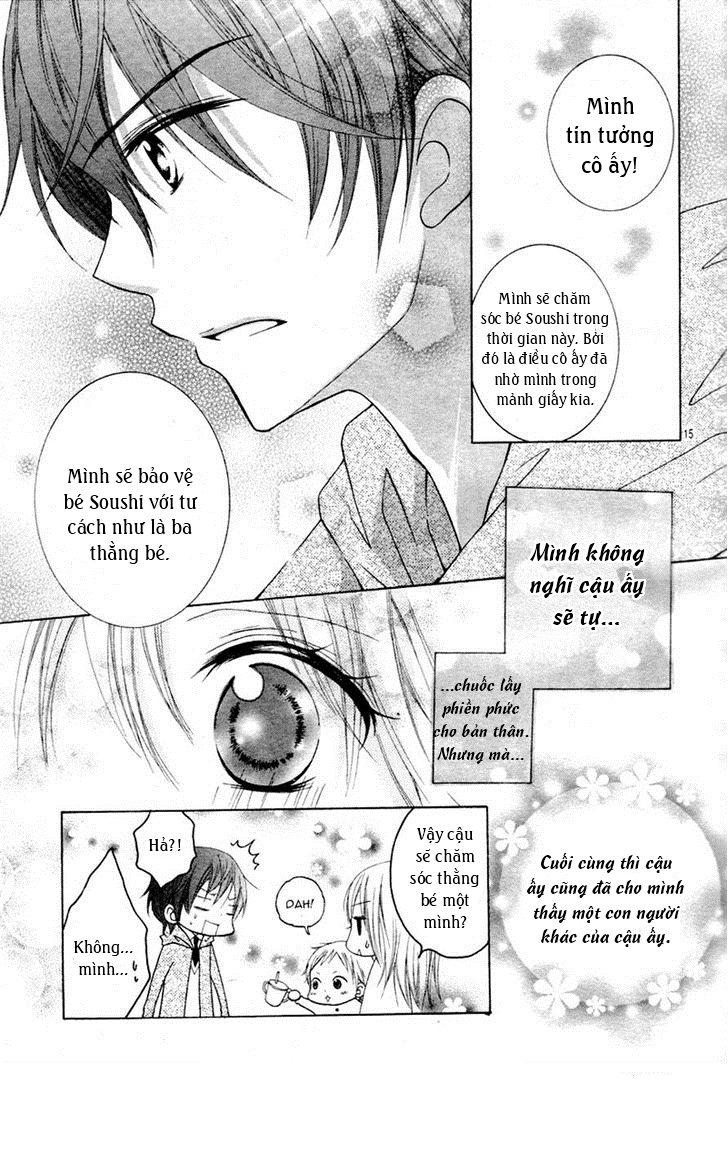 Papa to Mama Hajimemashita chap 1 - Trang 17
