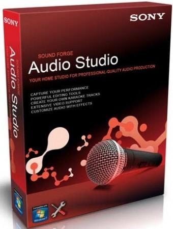 download Sony Sound Forge Audio Studio 10.0 Build 245