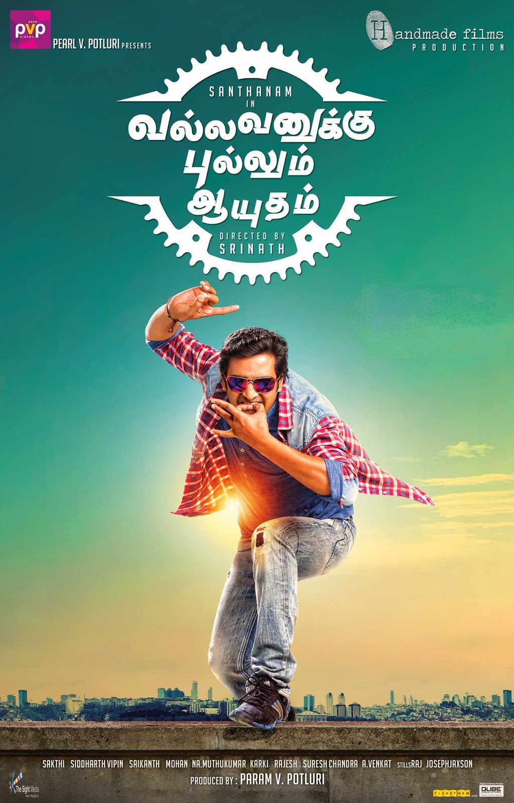 Watch Vallavanukku Pullum Aayudham (2014) Tamil Movie Watch Online Free Download