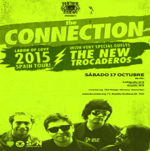 The Connection & The New Trocaderos (Loco Club, 17-10-15