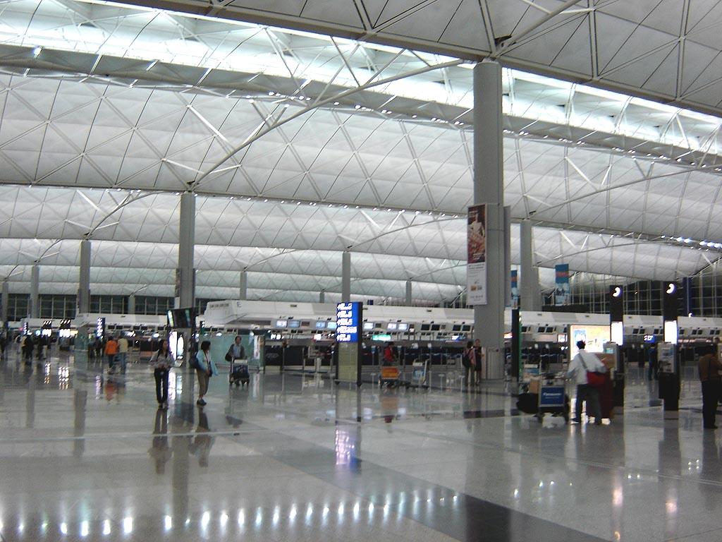 Hong Kong International Airport Airline Informasjon, Bakketransport
