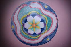 White Snake Mandala