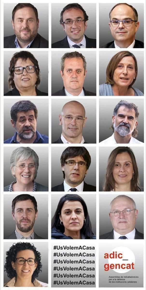 LLIBERTAT PRESOS I EXILIATS POLITÍCS CATALANS