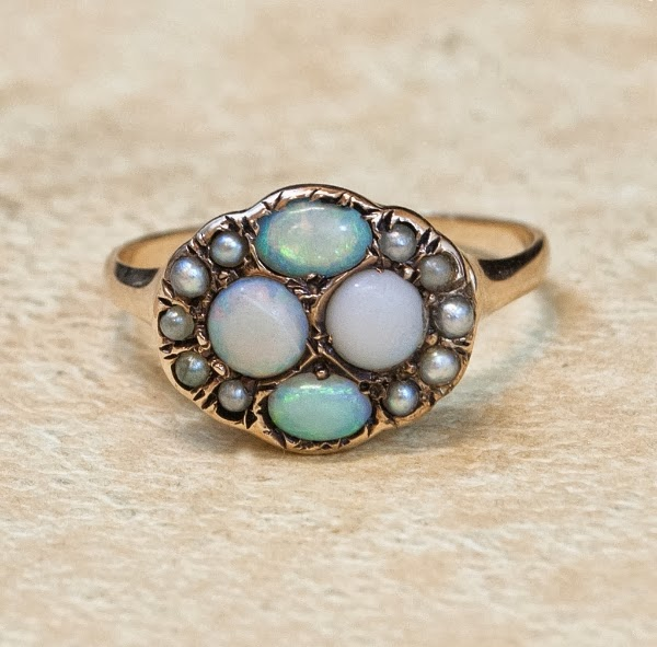 Victorian Opal Ring #victorian #jewelry #opal #ring