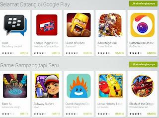 Aplikasi Android Terbaik di Google Playstore