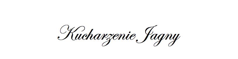 KUCHARZENIE JAGNY